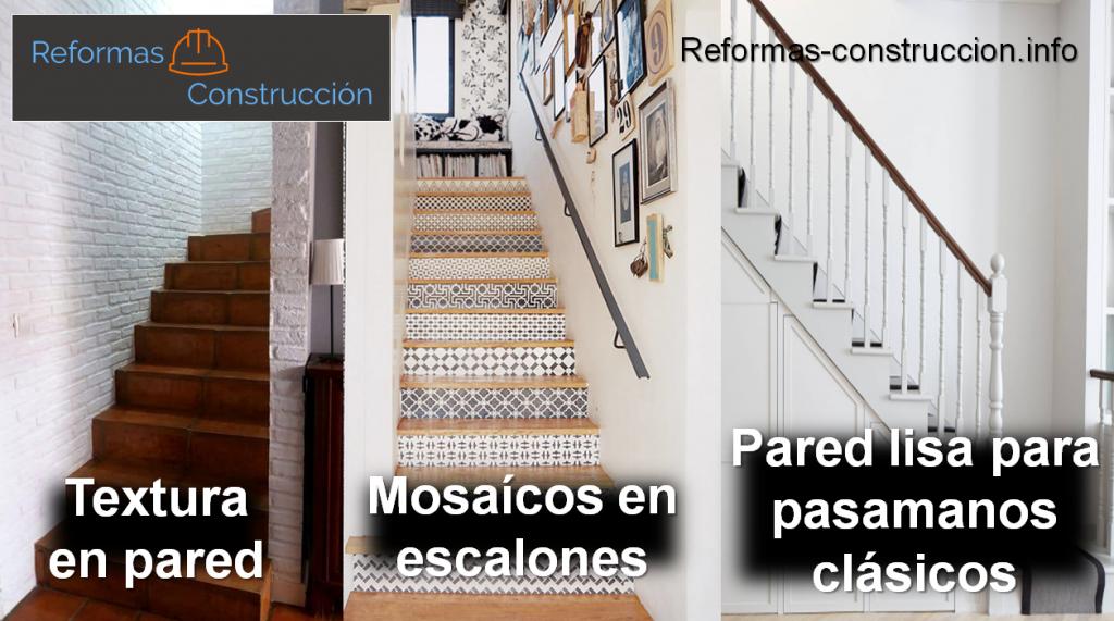 Ejemplos de escaleras reformadas
