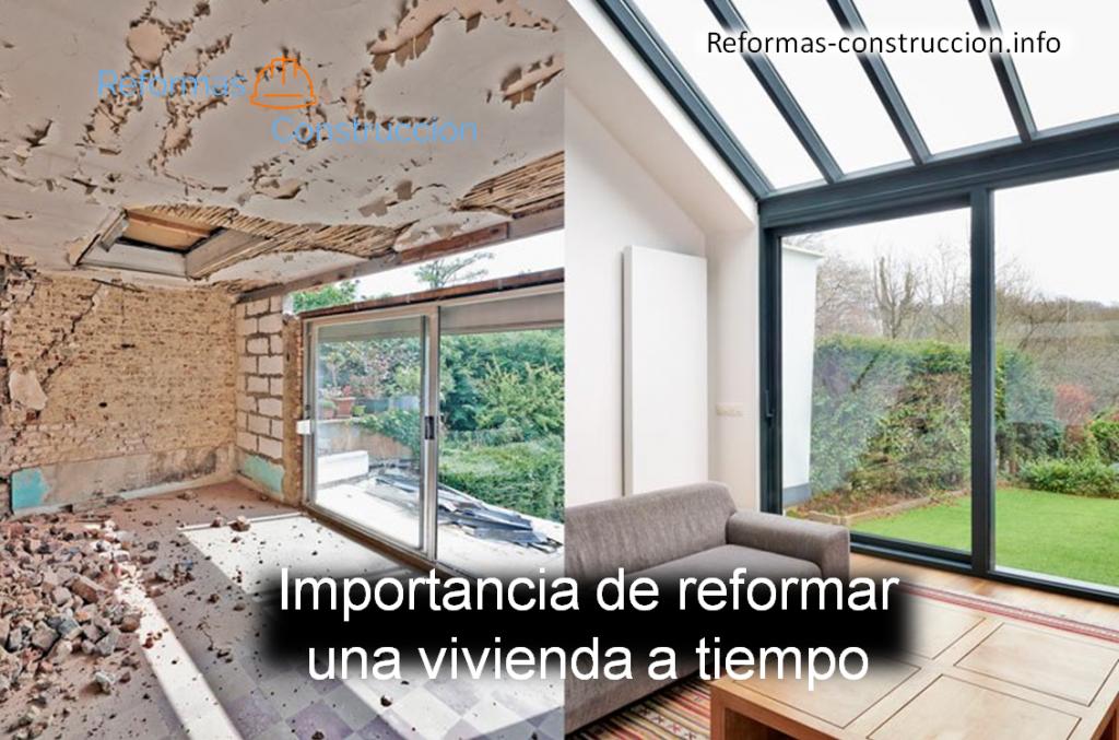 Importancia de reformar una vivienda a tiempo