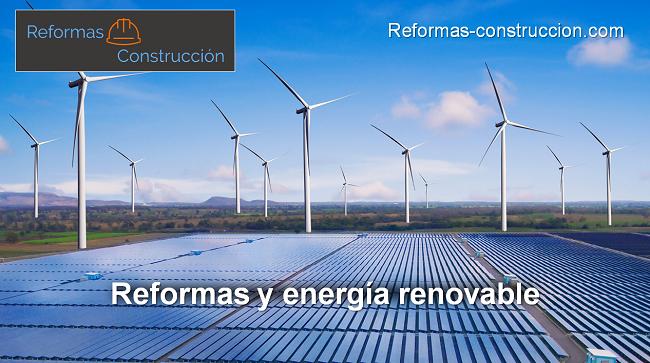 reformas y energía renovable