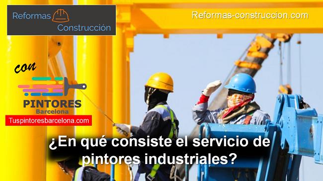 pintores industriales Barcelona